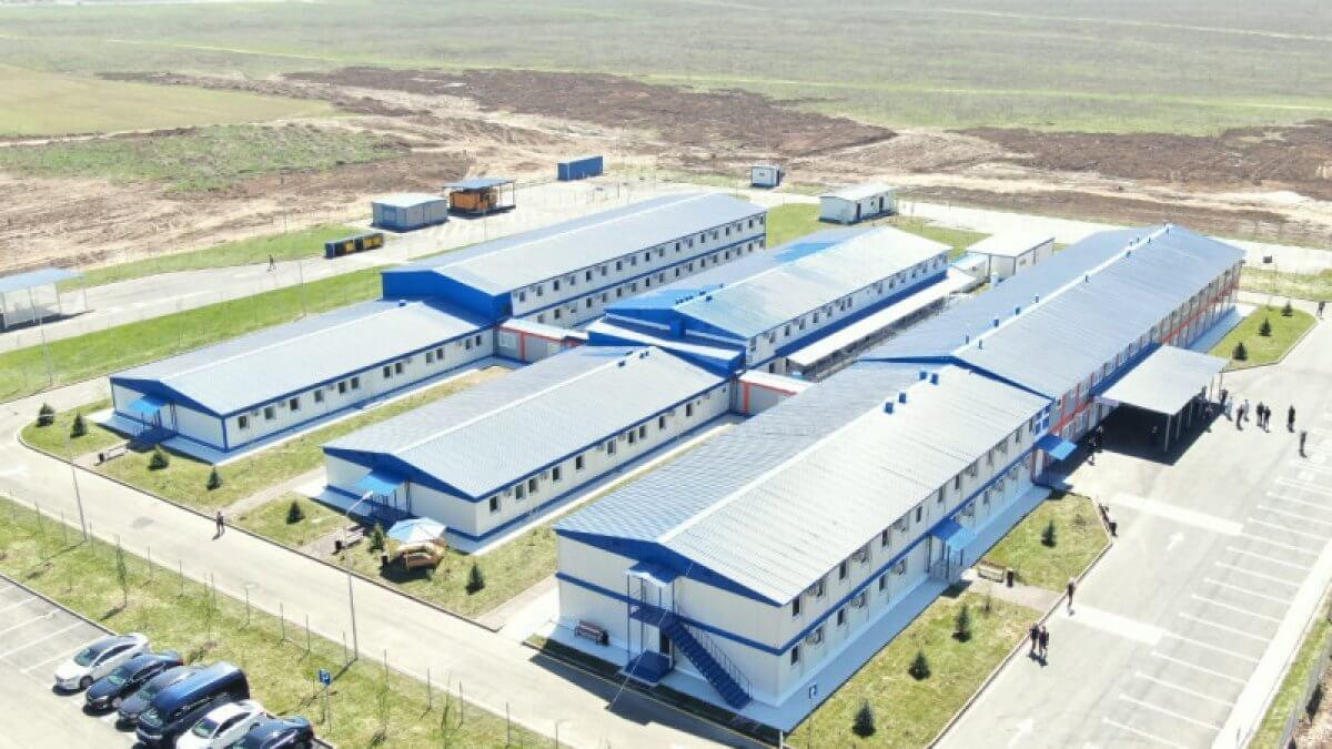 Новый алматинский инфекционный госпиталь за 5 млрд тенге не выдержал морозов