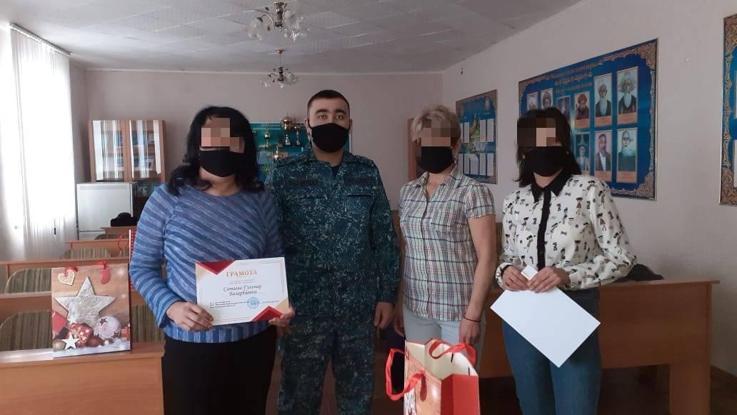 Женщины колонии-поселения Костанайской области приняли участие в конкурсе «Горжусь своей страной»