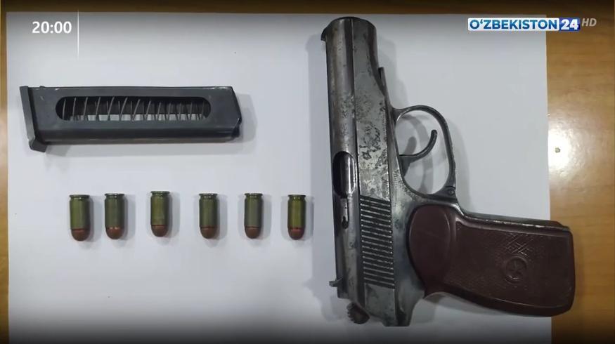 Двух граждан Узбекистана задержали при получении пистолета из Казахстана с помощью дрона
