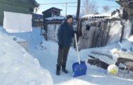 Волонтеры ОФ «Жанашыр бол» пришли на помощь одиноким и престарелым людям