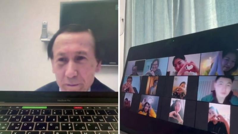 «Не смог сдержать слез». Учитель из Караганды растрогал казахстанцев в Сети