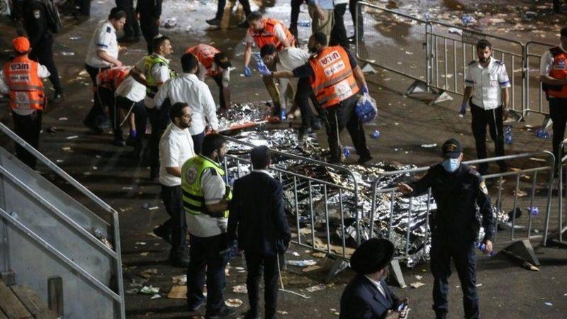 Десятки людей погибли во время давки на религиозном празднике в Израиле