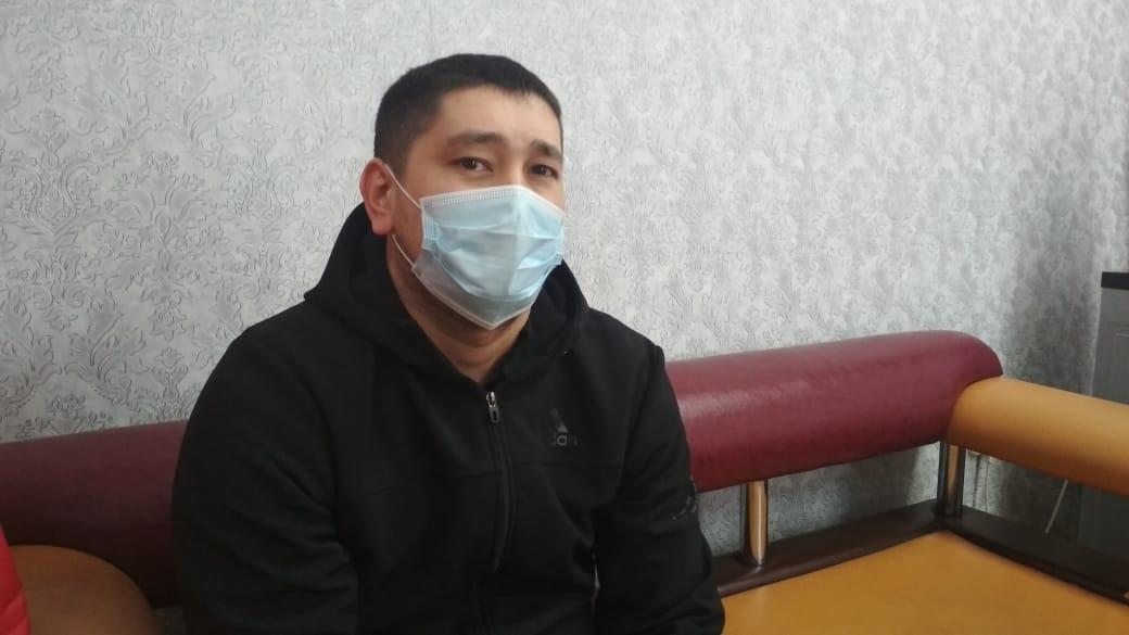 Шынгыс Исахметов, проходящий по делу об избиении мужчины, заявил, что сотрудники ГБР «Арыстан» не участвовали в драке