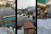 Жители Костаная-2, ул. Солнечная, жалуются, что их просьбы в откачке воды игнорируют