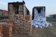 Пробки из грузовиков образовались на границе Казахстана и России