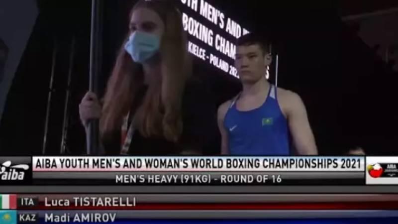 Казахстанец побил чемпиона Италии по боксу
