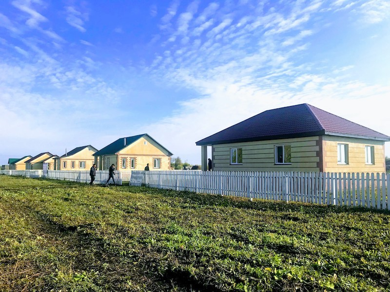 Создана рабочая группа для проверки качества строительства домов переселенцев в СКО