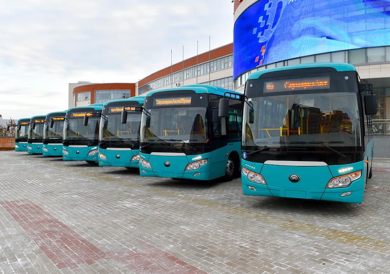 В акимате Петропавловска объяснили причину возврата новых автобусов на завод