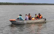 Пять человек спасли с перевернувшейся яхты в Боровом