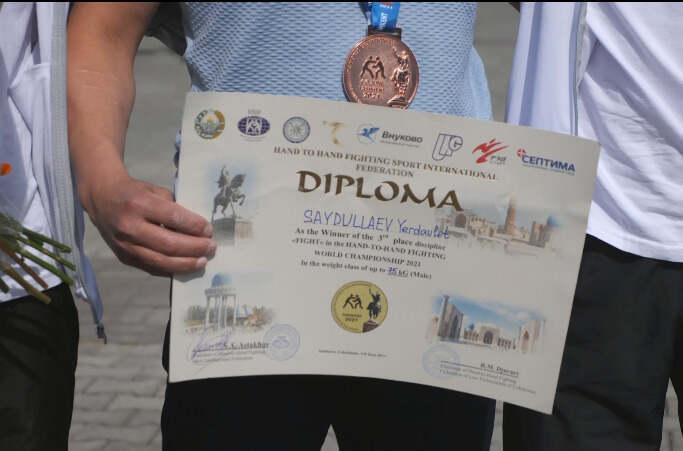 Бронзу завоевали на чемпионате мира по рукопашному бою полицейские СКО