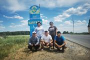 С целинниками в трех районах Костанайской области встретились студенты