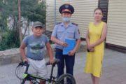 Костанайские полицейские раскрыли кражу велосипеда за полчаса