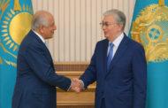 Токаев принял специального представителя США по примирению в Афганистане