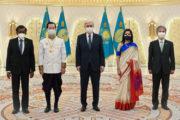 Токаев получил верительные грамоты от послов четырех государств