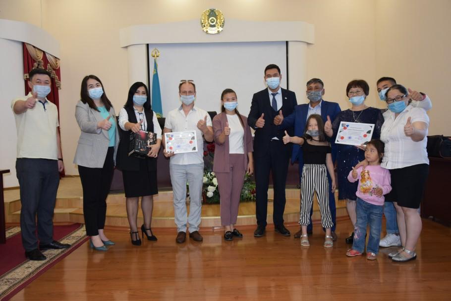 В Костанае наградили победителей городского этапа национального конкурса «Мерейлi отбасы»