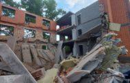 В Павлодаре обрушился строящийся дом