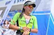 Казахстанка заняла первое место в триатлоне в Минске