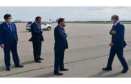 Президент прибыл с рабочей поездкой в Кокшетау