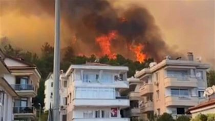 В Турции лесные пожары дошли до курортных городов, есть погибшие