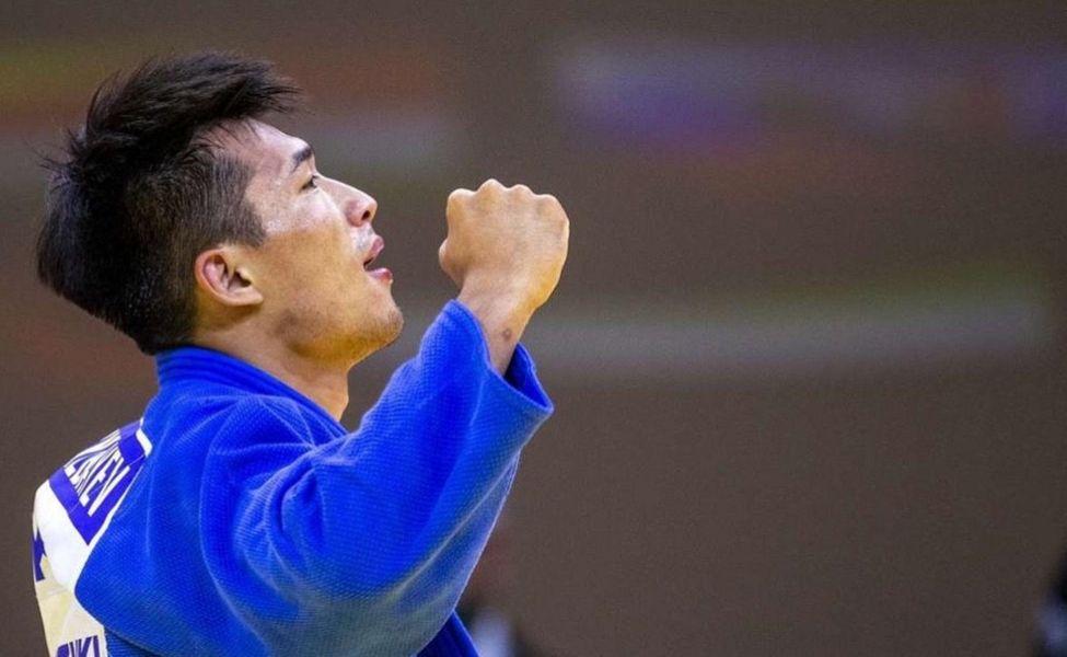 Лучшим спортсменом июня назван дзюдоист Гусман Кыргызбаев
