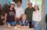Студенты встретились с целинниками трех районов Костанайской области
