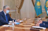 Аймагамбетов отчитался перед президентом о проводимых мероприятиях для перехода на традиционный формат обучения