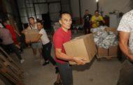 Гуманитарная помощь для социально уязвимых слоев населения прибыла в Костанай