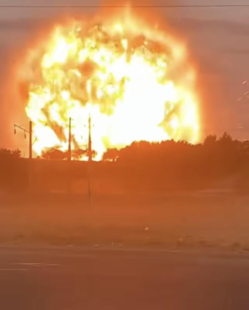 Взрывы на складах воинской части в Жамбылской области