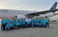 Паралимпийская сборная Казахстана вылетела в Токио