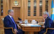 Президент объявил выговор Сапарбаеву за назначение уволенного им экс-акима Тараза
