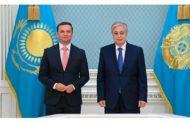 Глава государства принял министра иностранных дел Северной Македонии