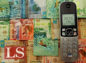 Сколько зарабатывают сотовые операторы в Казахстане