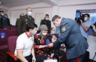 Государственные награды вручены семьям погибших при взрывах в Жамбылской области