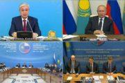 Как Владимир Путин и Касым-Жомарт Токаев искали полосатых кошек в степях Казахстана